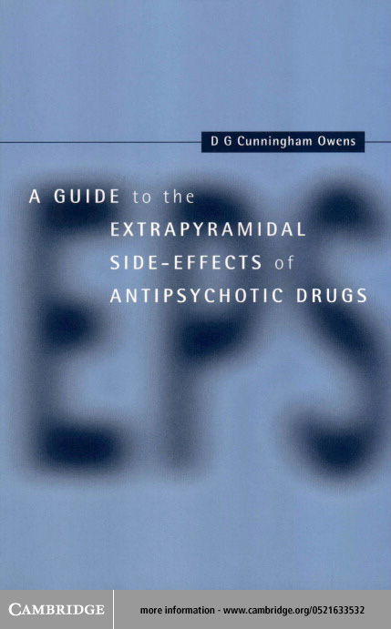 A Guide to the Extrapyramidal Side Effects of Antipsychotic Drugs
