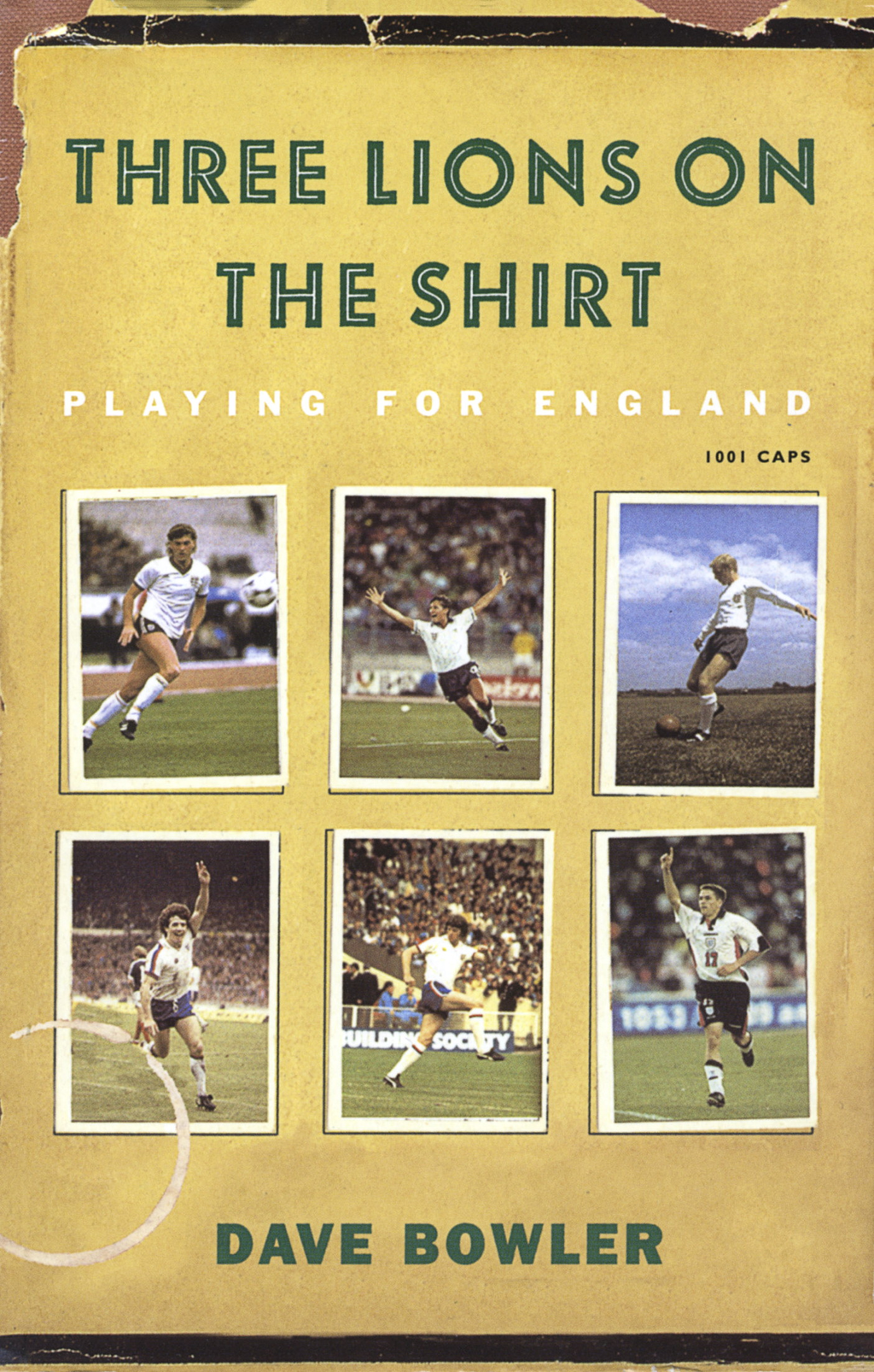 Three Lions On The Shirt Playing for England