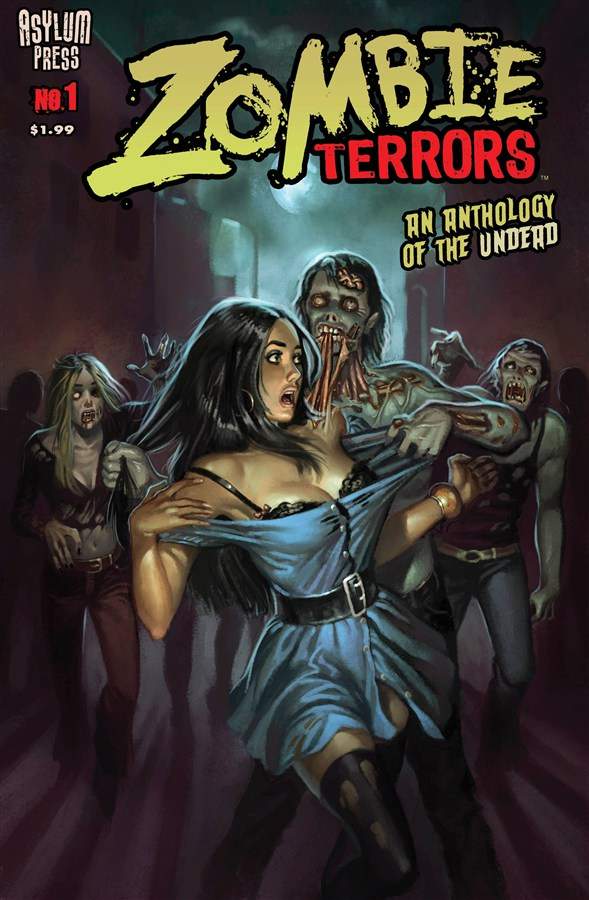 Zombie Terrors #1 By: Aly Fell,Frank Forte,Nenad Gucunja,David Hartman,Royal McGraw,Elizabeth J. Musgrave,Adauto Silva,Doug Williams