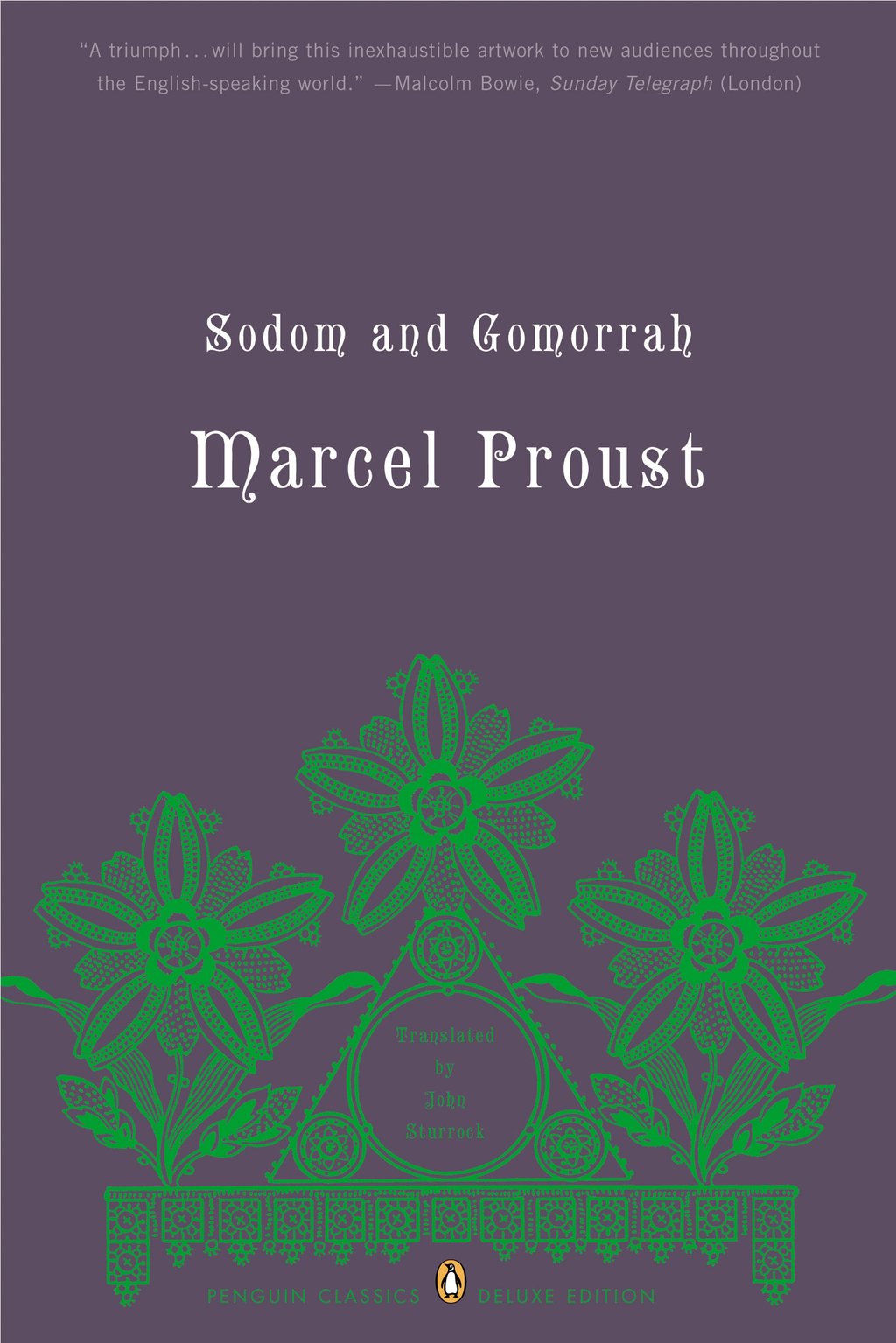 Sodom and Gomorrah By: Marcel Proust