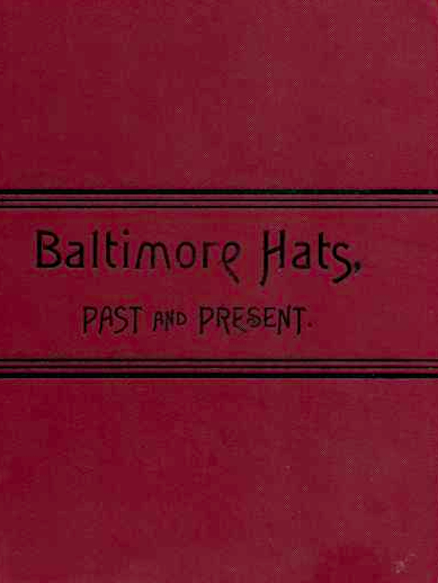 Baltimore Hats