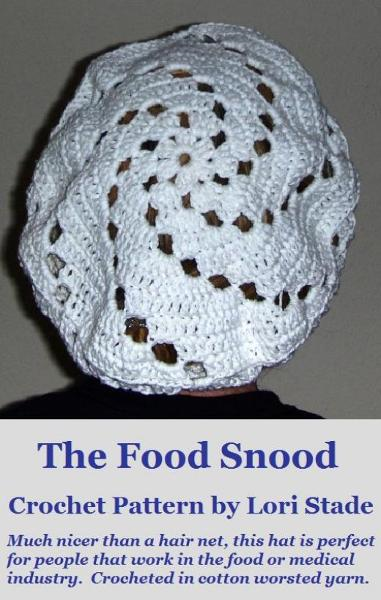Food Snood Hairnet Hat Crochet Pattern