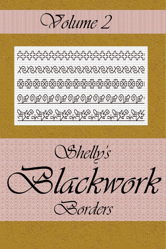 Shelly's Blackwork Borders Vol. 2