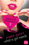 What A Girl Needs: Harperimpulse Erotic Romance (indecent Proposals, Book 2)