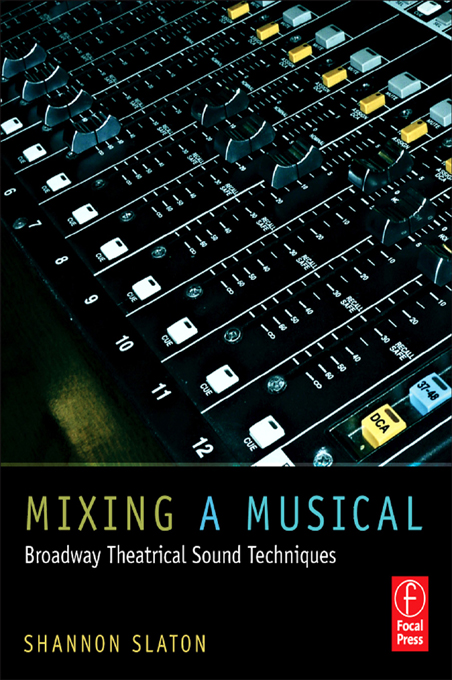 Mixing a Musical By: Shannon Slaton