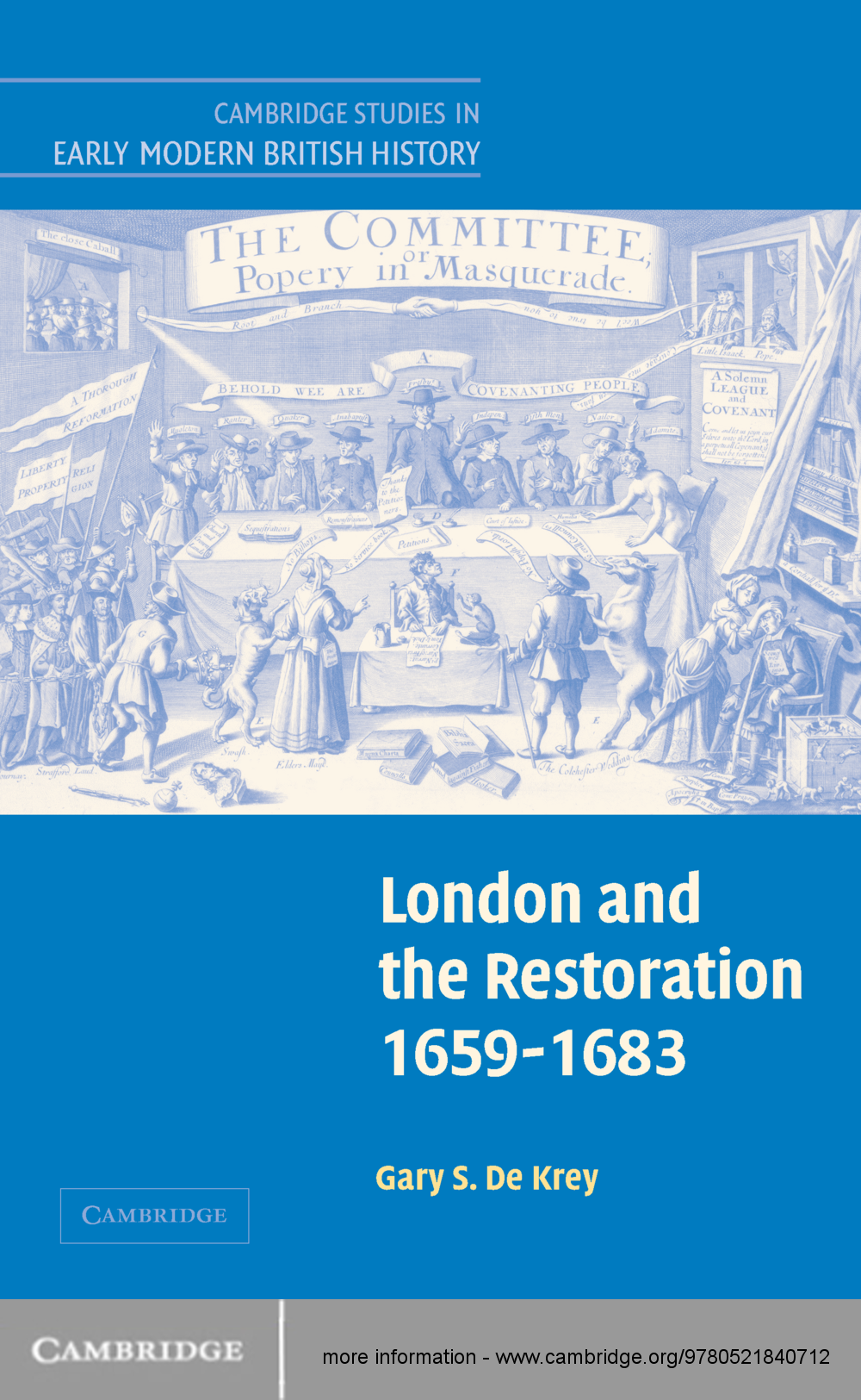 London and the Restoration,  1659?1683