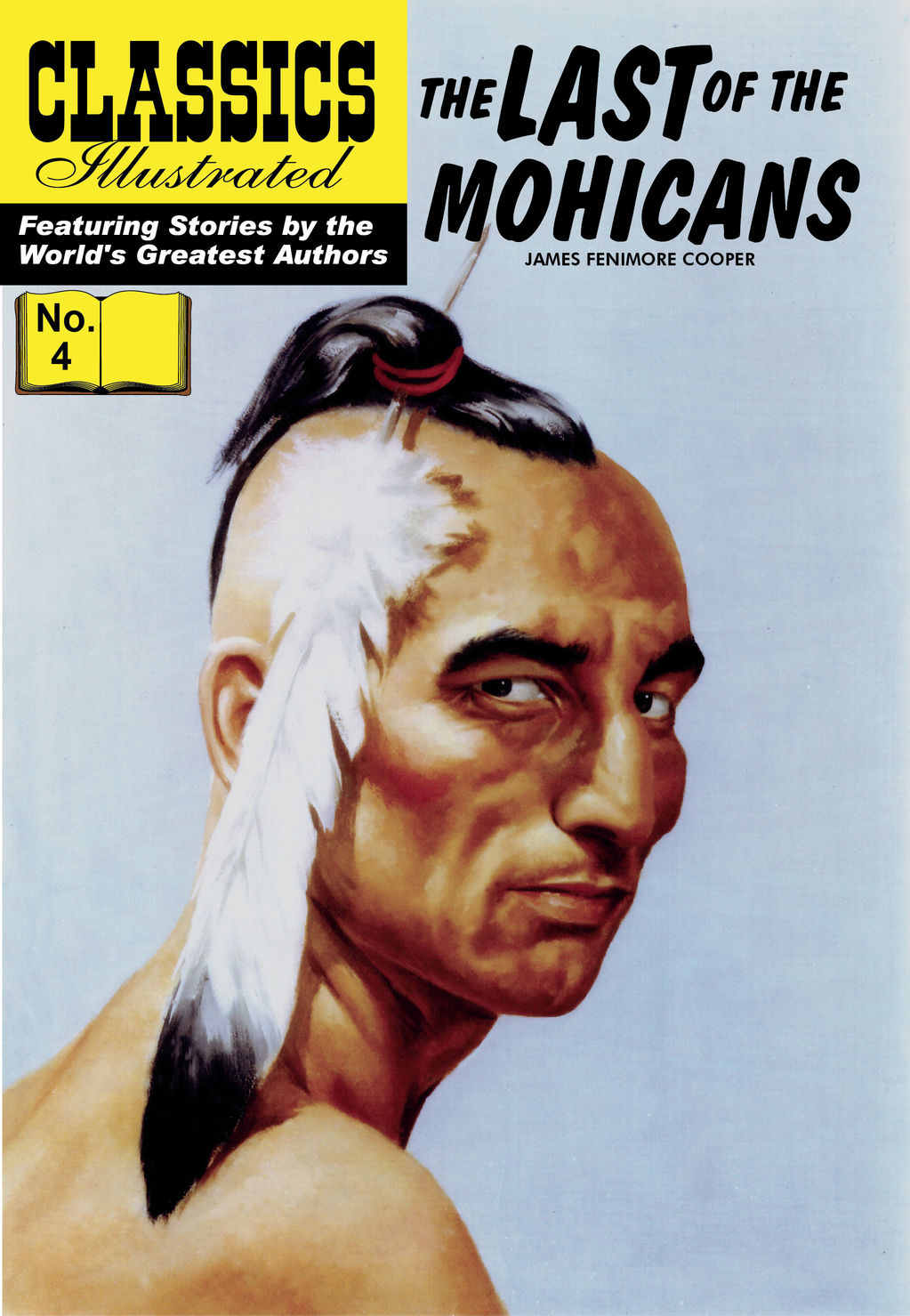 The Last of the Mohicans - Classics Illustrated #4