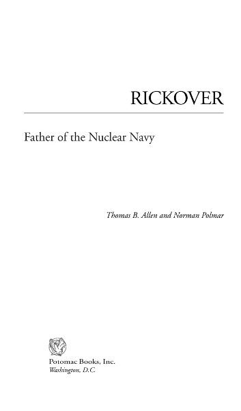 Rickover By: Thomas B. Allen; Norman Polmar