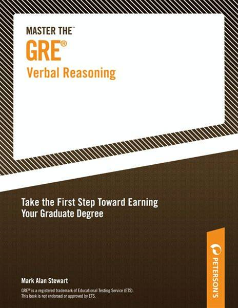 Master the GRE Verbal Reasoning