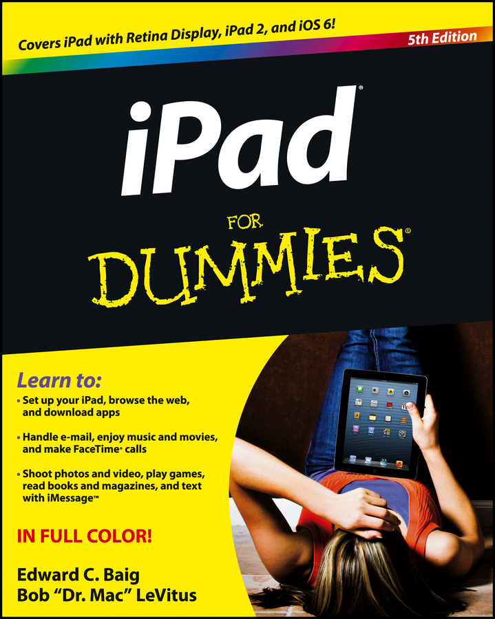 iPad For Dummies By: Bob LeVitus,Edward C. Baig