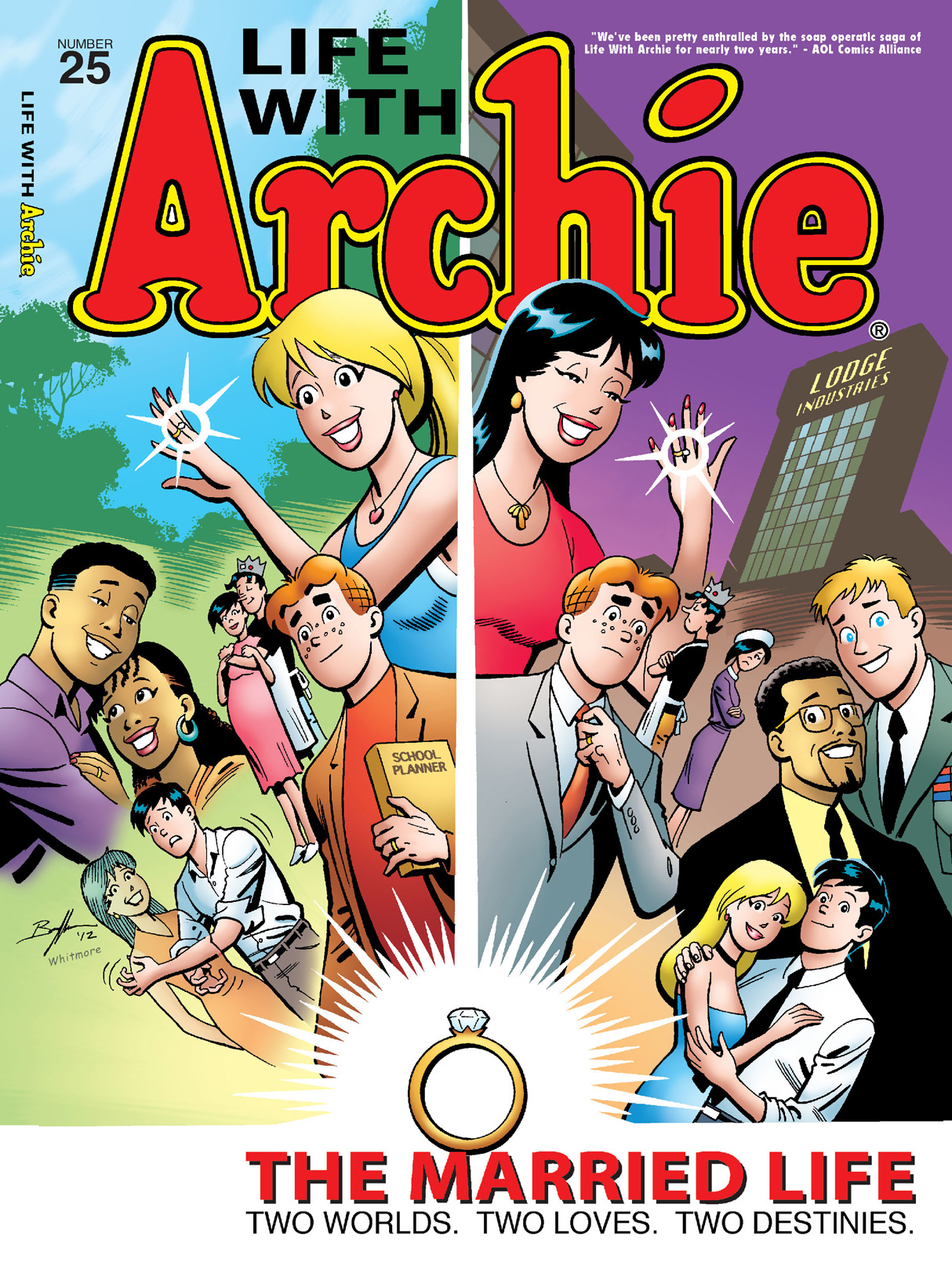 Life With Archie #25 By: Paul Kupperberg, Fernando Ruiz, Bob Smith, Jack Morelli, Glenn Whitmore, Pat Kennedy, Tim Kennedy, Jim Amash