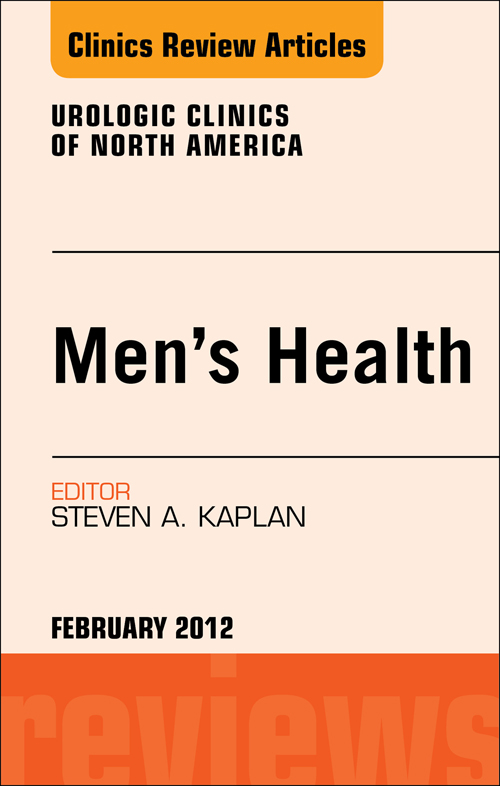Men's Health, An Issue of Urologic Clinics