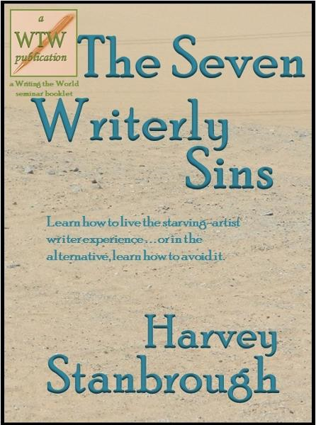 The Seven Writerly Sins