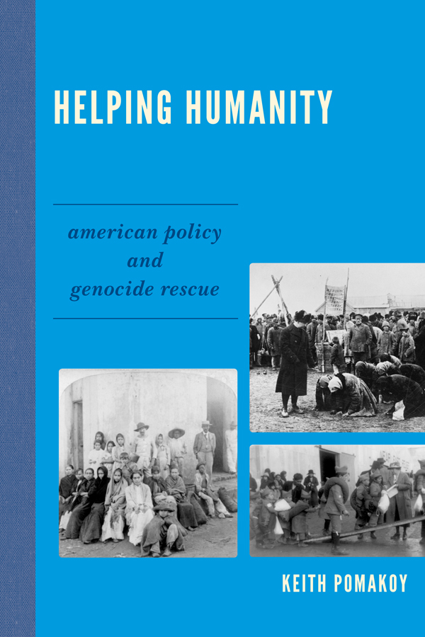 Helping Humanity By: Keith Pomakoy
