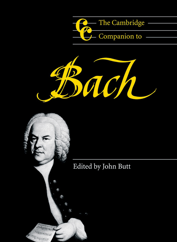 The Cambridge Companion to Bach