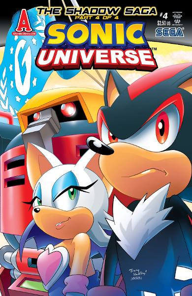 Sonic Universe #4 By: Ian Flynn, Tracy Yardley!