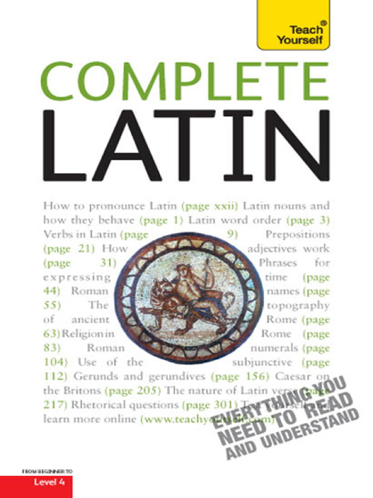 Complete Latin By: Gavin Betts
