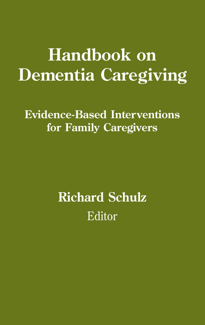 Handbook on Dementia Caregiving