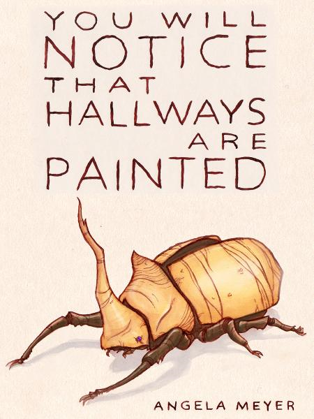 You Will Notice That Hallways Are Painted (short story)