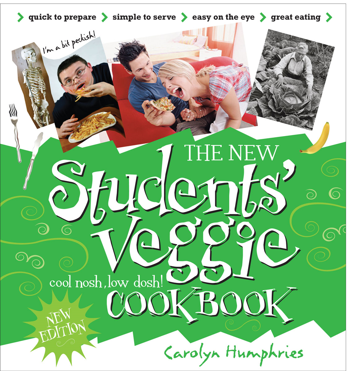 New Students Veggie Cook Book By: Carolyn Humphries