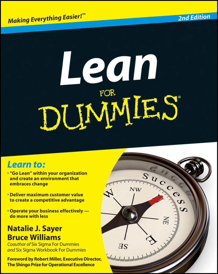 Lean For Dummies By: Bruce Williams,Natalie J. Sayer