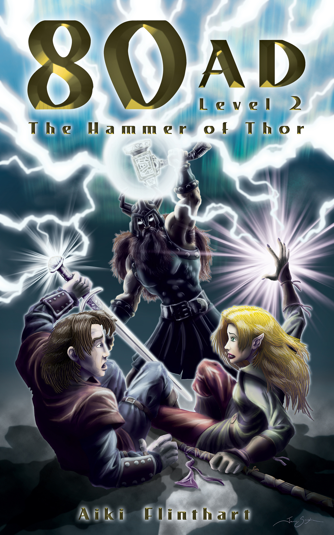 80AD - The Hammer of Thor (Book 2)