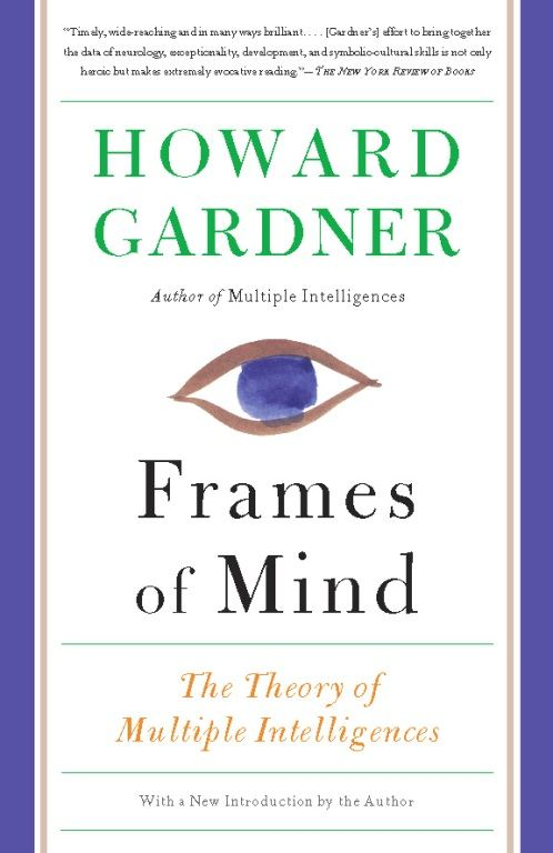 Frames of Mind: The Theory of Multiple Intelligences By: Howard Gardner