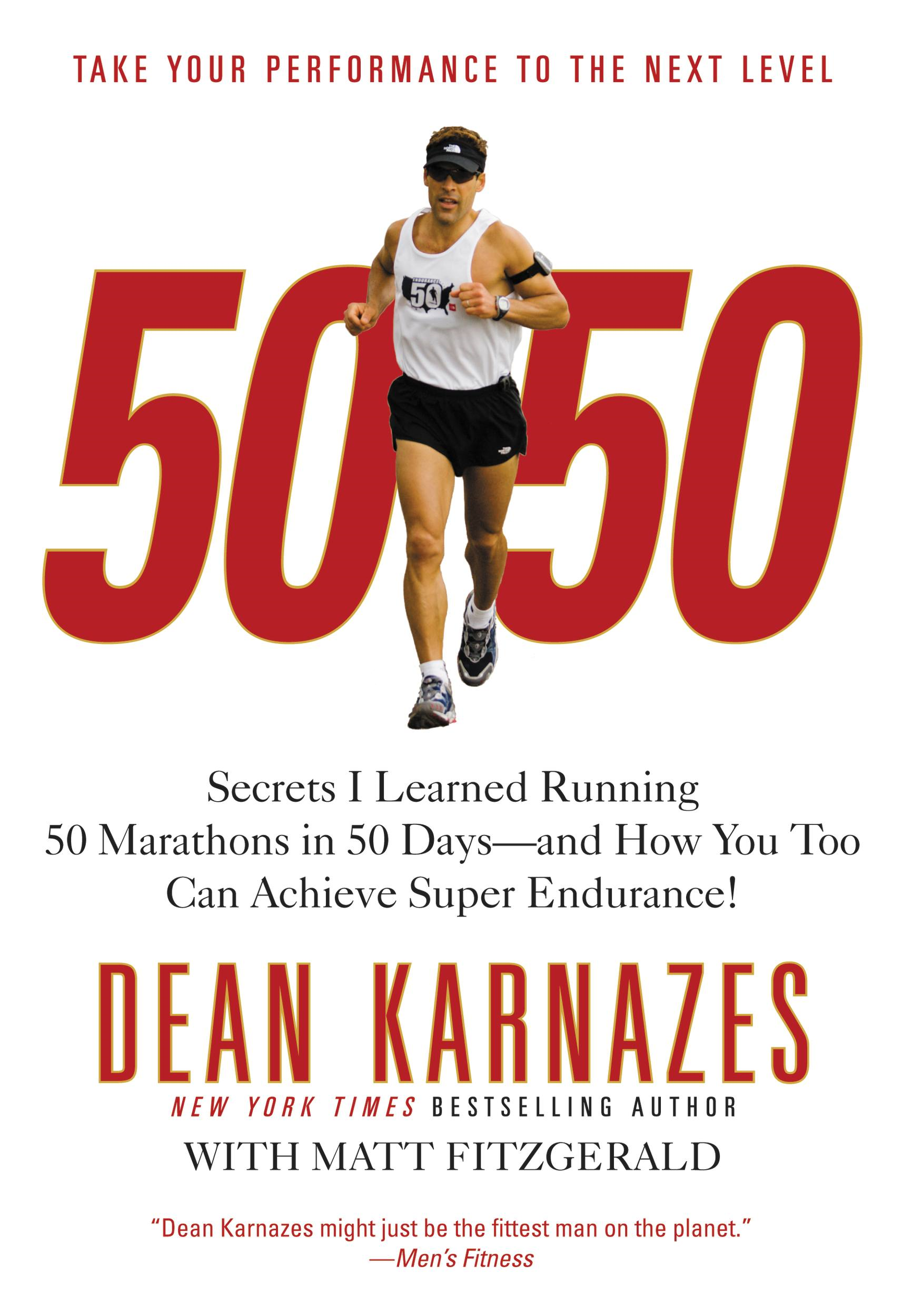 50/50 By: Dean Karnazes