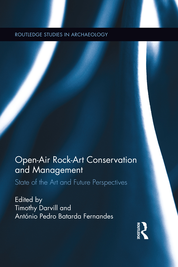 Open-Air Rock Art Conservatio and Management State of the Art and Future Perspectives