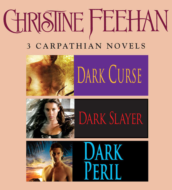 Christine Feehan 3 Carpathian novels