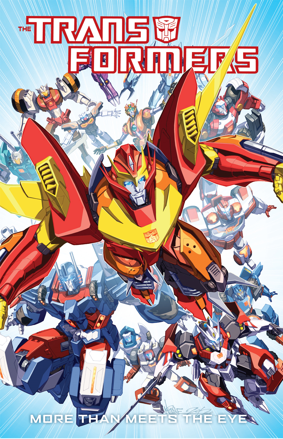 Transformers: More Than Meets the Eye Vol. 1