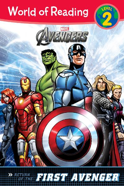 The Avengers: The Return of the First Avenger (Level 2) By: Disney Book Group