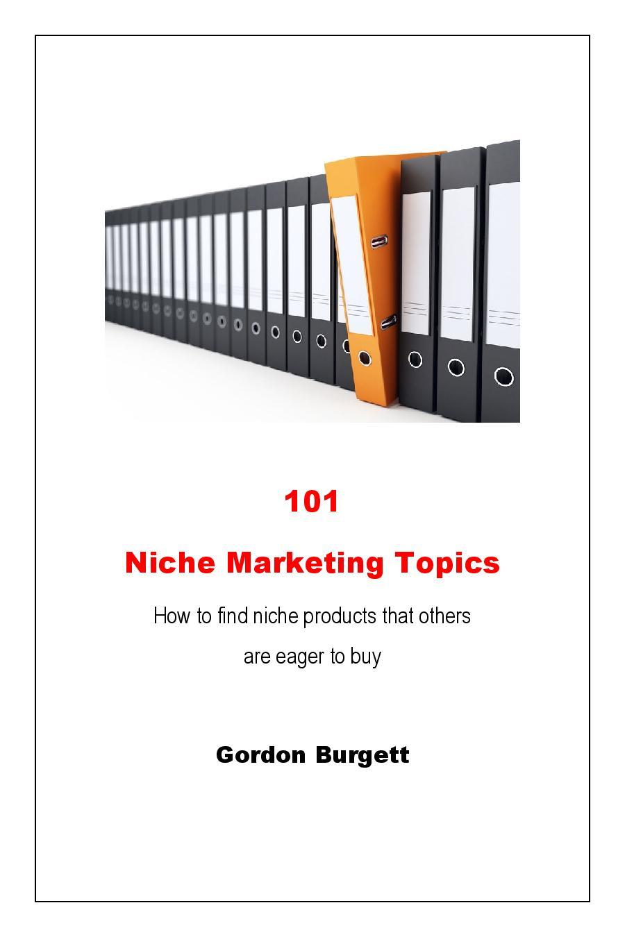 101 Niche Marketing Topics