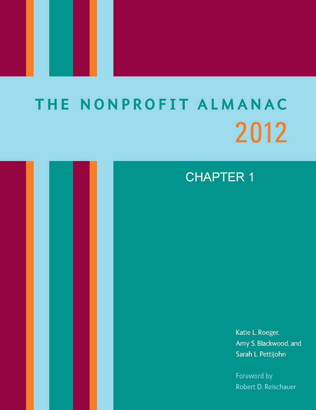 The Nonprofit Almanac 2012