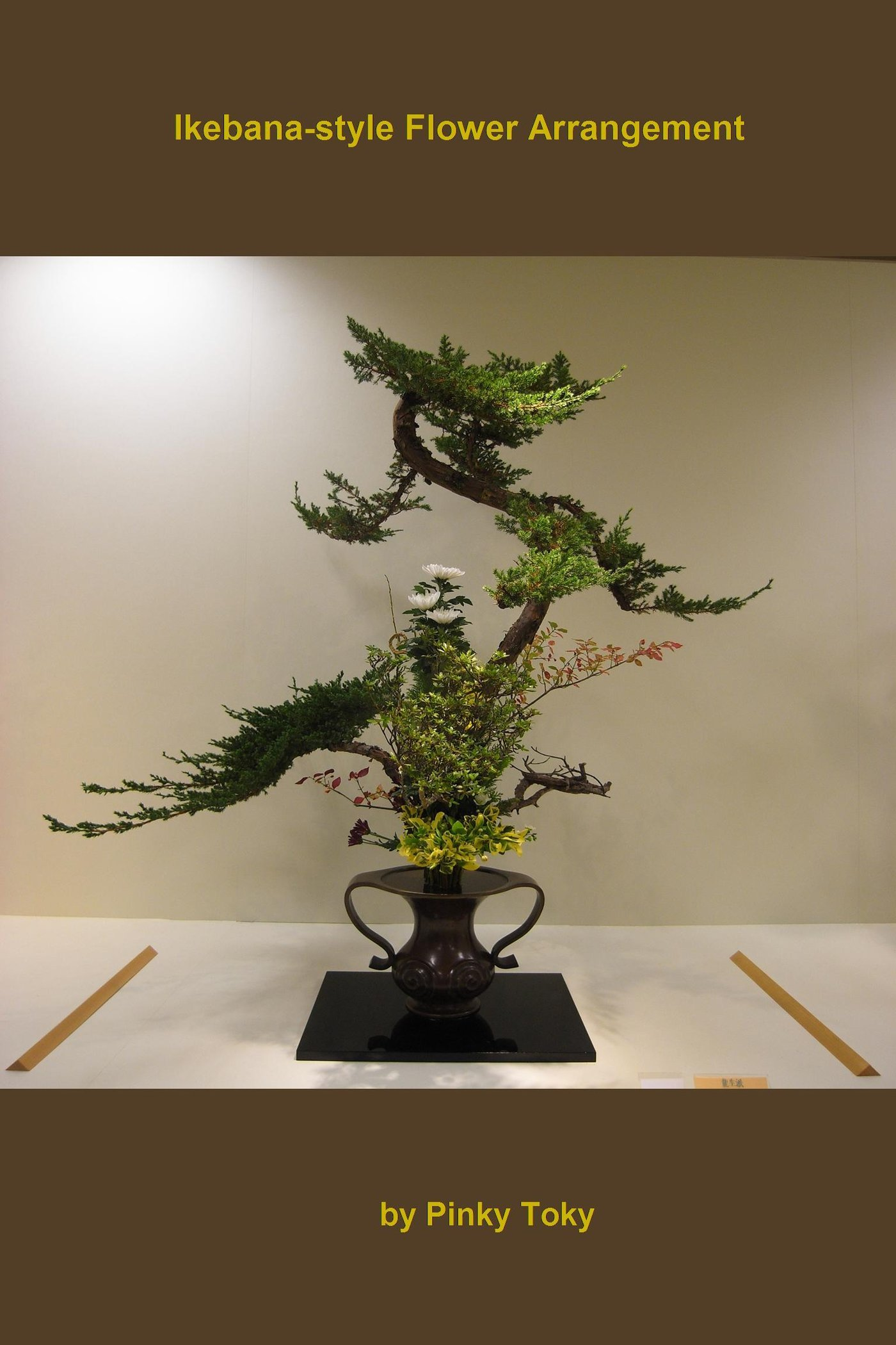 Ikebana-style Flower Arrangement