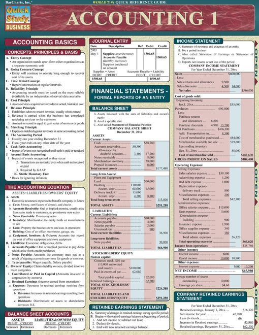Accounting 1 By: BarCharts,Inc