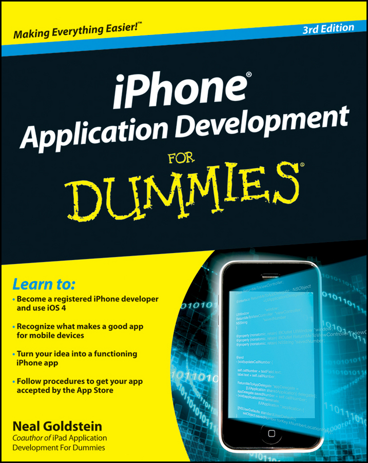 iPhone Application Development For Dummies By: Neal Goldstein