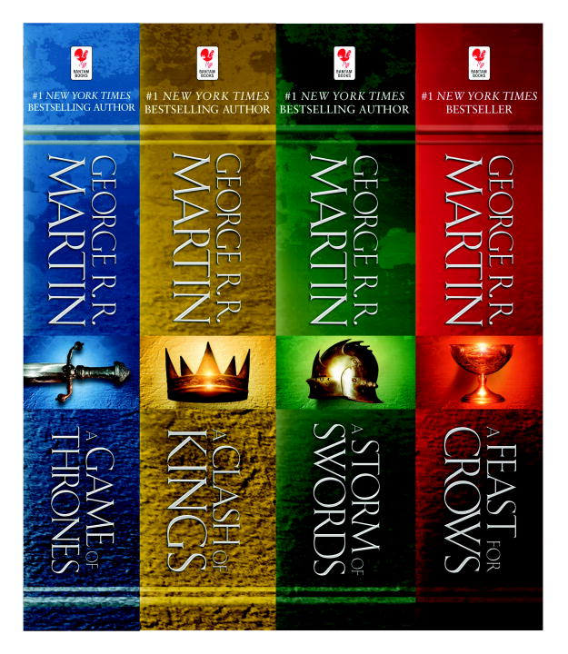 George R. R. Martin's A Game of Thrones 4-Book Bundle: A Song of Ice and Fire Series: A Game of Thrones, A Clash of Kings, A Storm of Swords, and A Feast for Crows By: George R.R. Martin