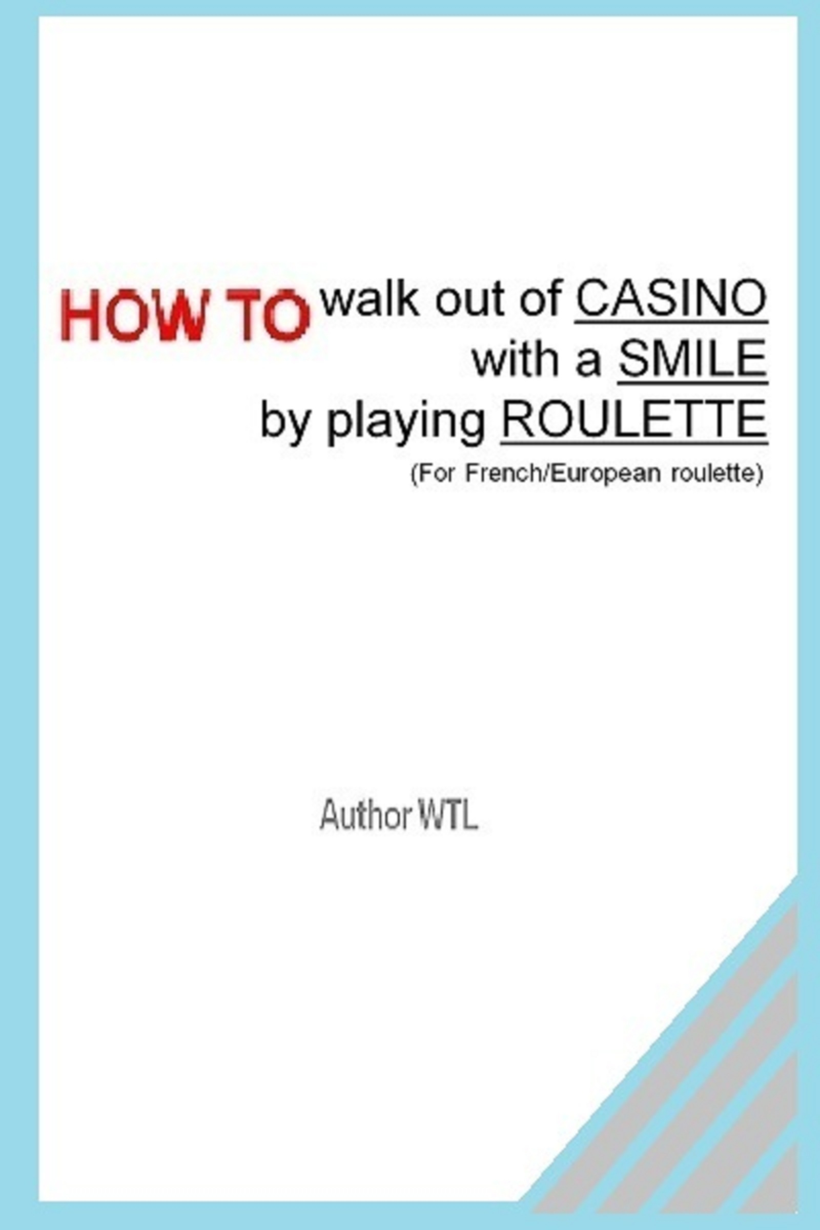 How To Walk Out Of The Casino With A Smile Playing Roulette.