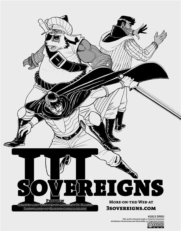 Three Sovereigns - Preview By: Anthony Di Franco,Fabrice Adinarayanin