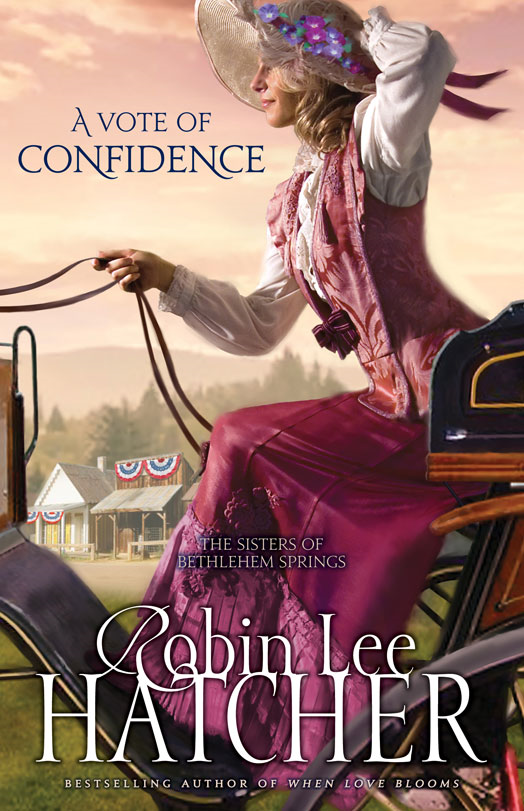 A Vote of Confidence By: Robin Lee   Hatcher