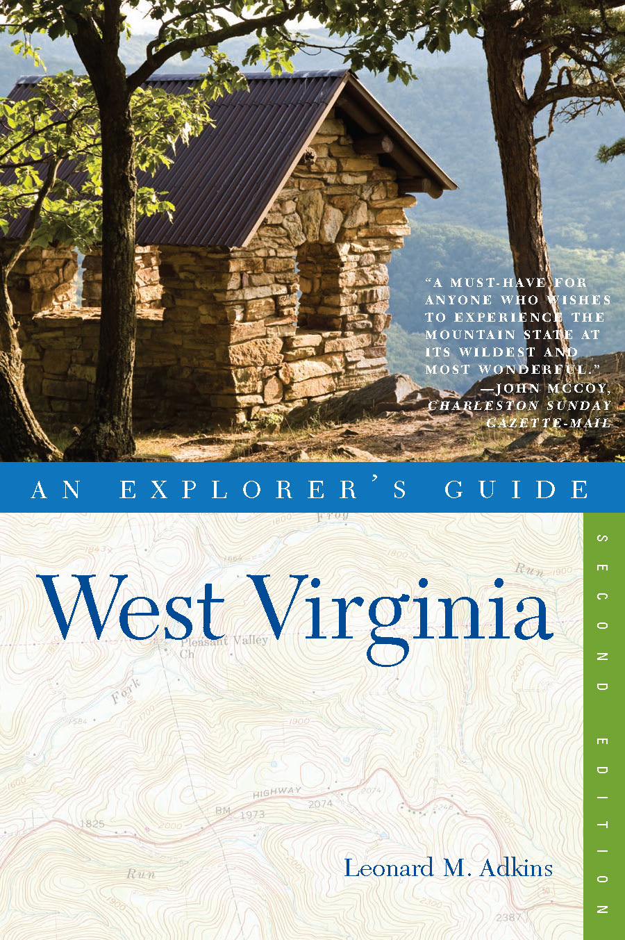 Explorer's Guide West Virginia (Second Edition)  (Explorer's Complete)