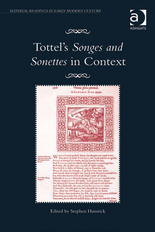 Tottel's Songes and Sonettes in Context