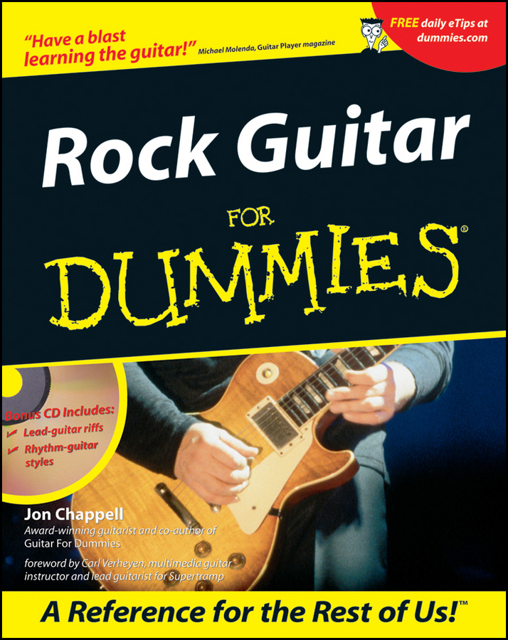 Rock Guitar For Dummies By: Jon Chappell