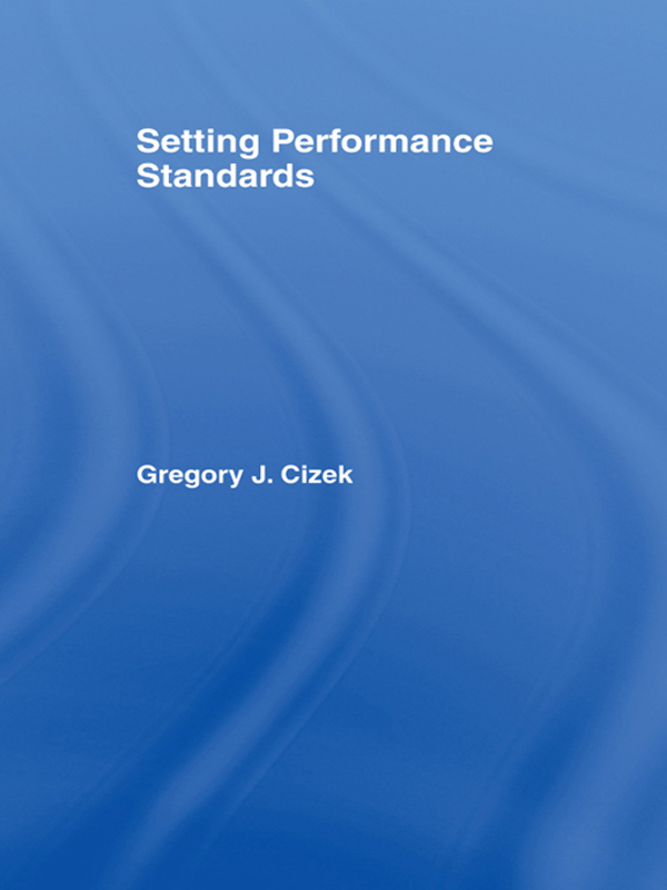 Setting Performance Standards