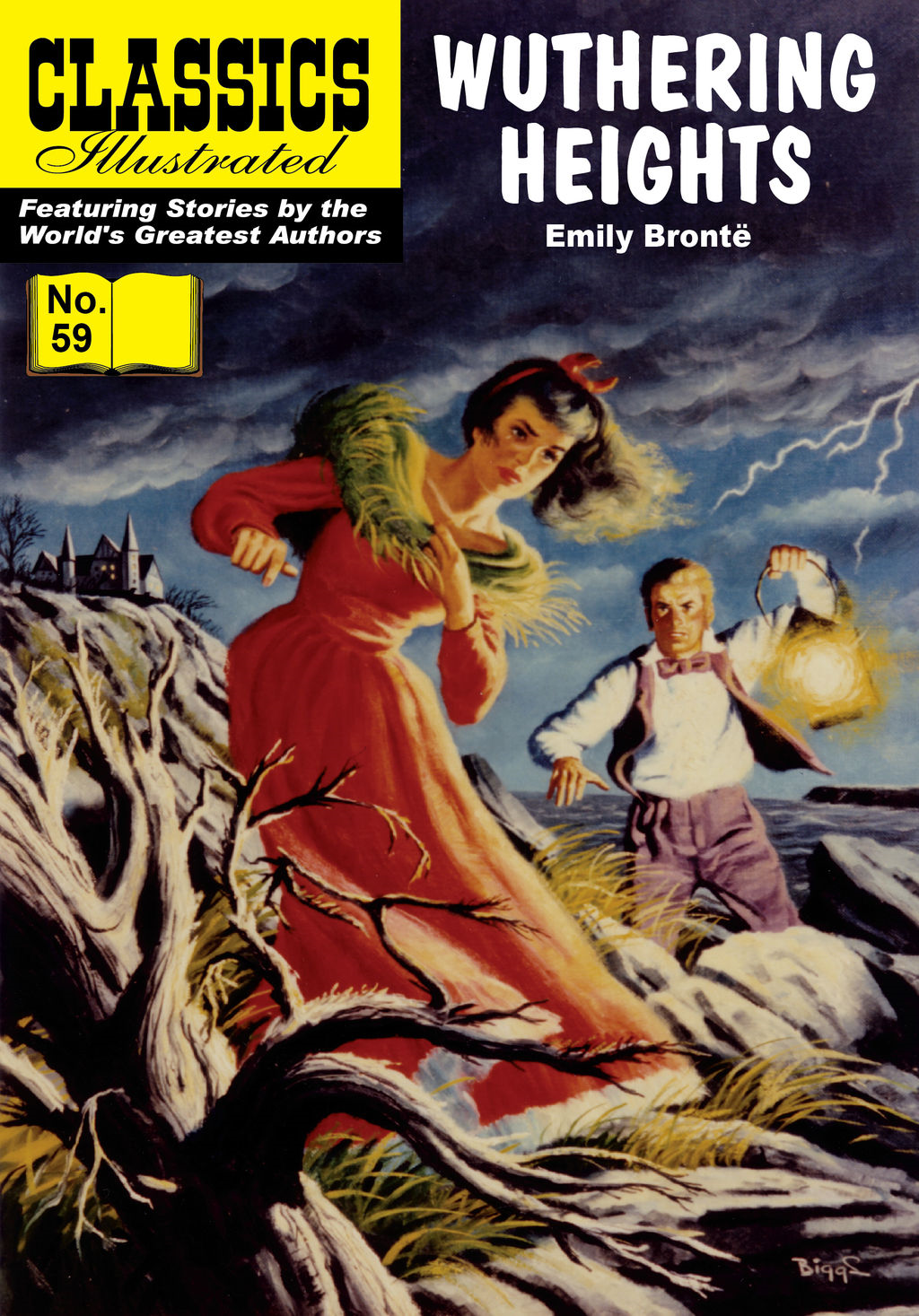 Wuthering Heights - Classics Illustrated #59