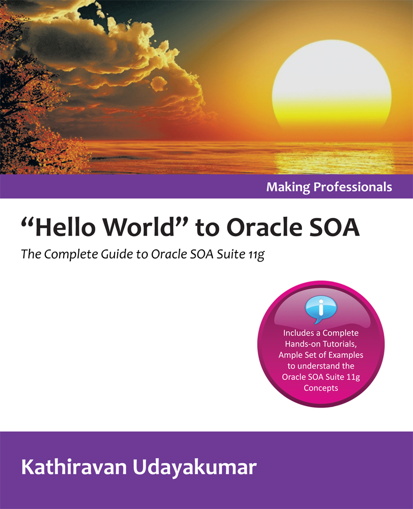 """Hello World"" to Oracle SOA"