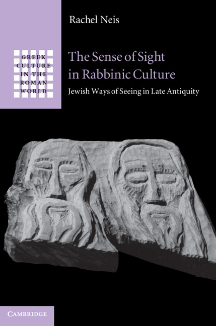 The Sense of Sight in Rabbinic Culture Jewish Ways of Seeing in Late Antiquity
