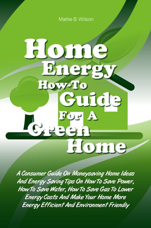 Home Energy How-To Guide For A Green Home By: Mattie B. Wilson