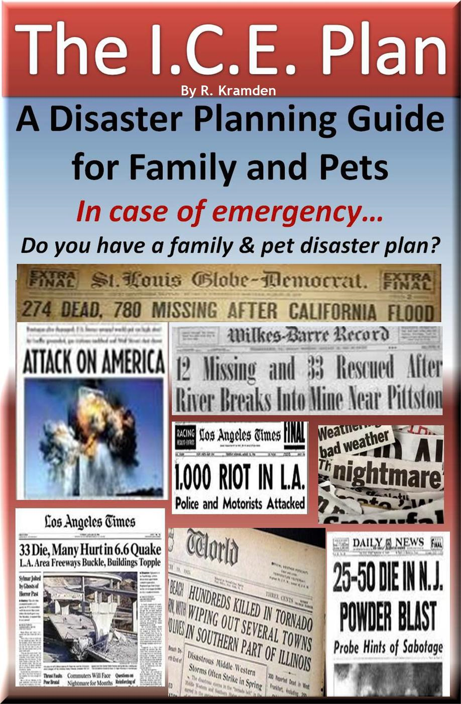 I.C.E. Plan: A Disaster Planning Guide for Family and Pets